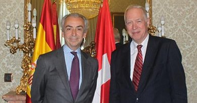 Spain's State Secretary for the Treasury, Miguel Ferre, held a meeting at the headquarters of the Ministry of the Treasury and Public Administration Services with the State Secretary for Financial Affairs of Switzerland, Jacques de Watteville. Photo Credit: Ministerio de Hacienda y Administraciones Públicas