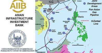 The Asian Infrastructure Investment Bank (AIIB) should fund development of the proposed Trans-ASEAN Gas Pipeline (TAGP) to calm worries over Chinese territorial claims to the entire South China Sea.