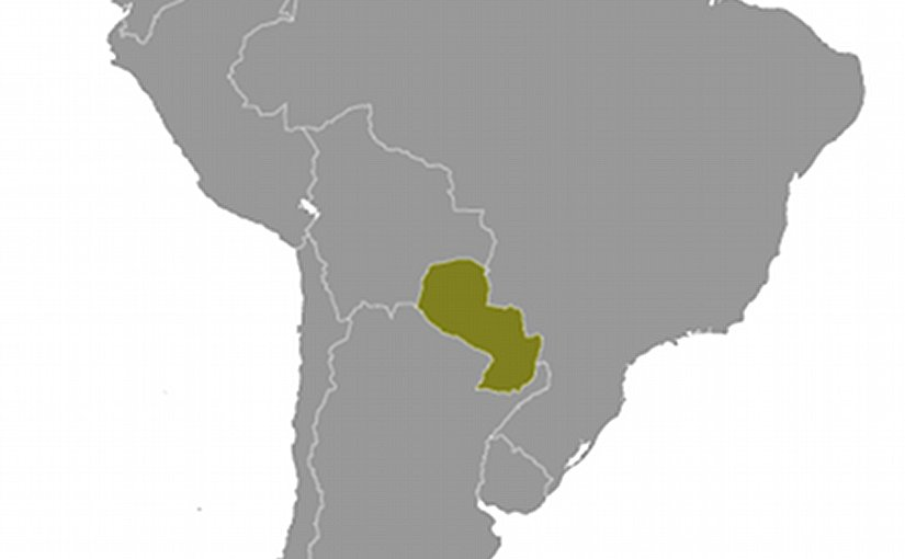 Location of Paraguay. Source: CIA World Factbook.