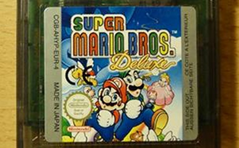 Super Mario Bros game. Source: Wikipedia Commons.