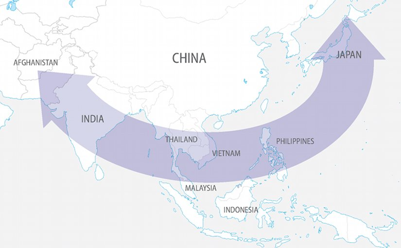 China's Encirclement Concerns. Source: FPRI