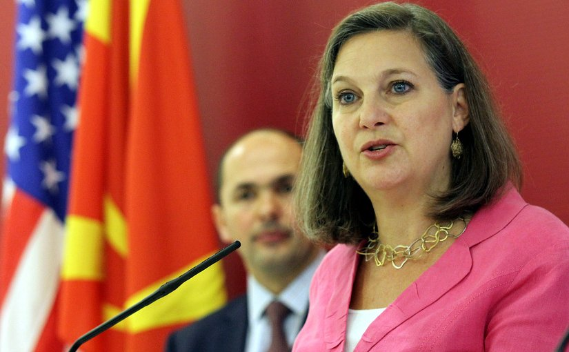 US Assistant Secretary of State for European and Eurasian Affairs, Victoria Nuland. Photo by MIA