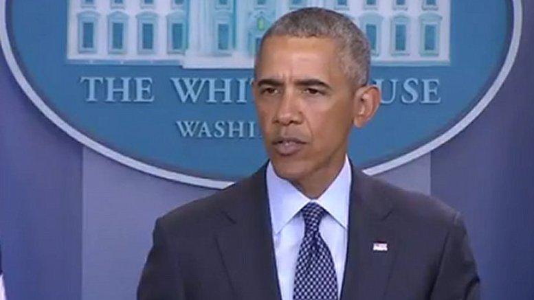 US President Barack Obama. Photo Credit: Screenshot from White House video.