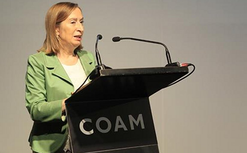 Spain's Minister for Public Works, Ana Pastor. Photo Credit: Ministerio de Fomento.
