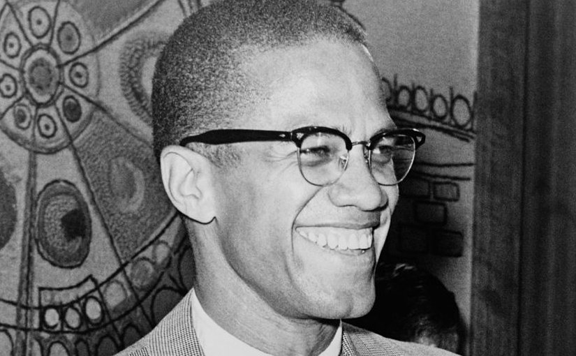 Malcom X. Photo by Ed Ford, World Telegram staff photographer, Wikipedia Commons.
