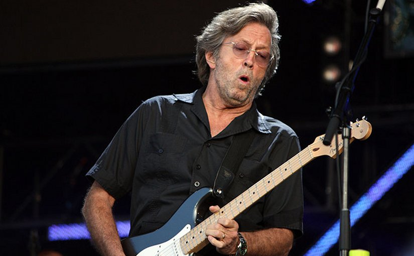 Eric Clapton. Photo by Majvdl, Wikipedia Commons.