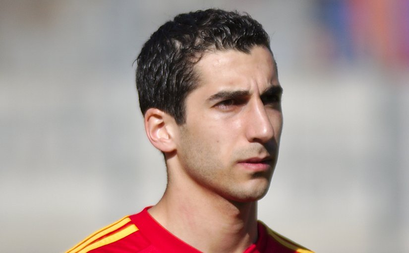 Henrikh Mkhitaryan. Photo by Clément Bucco-Lechat, Wikipedia Commons.