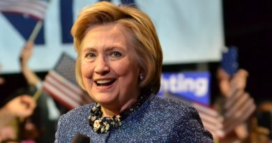 Hillary Clinton. Photo by Zachary Moskow, Wikipedia Commons.