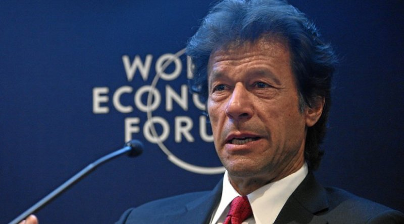 Pakistan's Imran Khan. Photo by World Economic Forum, Wikimedia Commons.