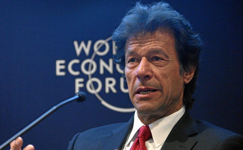 Pakistan's Imran Khan. Photo by World Economic Forum, Wikimedia Commons.