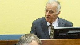 Ratko Mladic in court. Photo: ICTY.