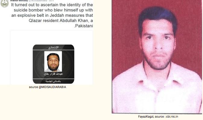 Abdullah Qalzar Khan, via Saudi Interior Ministry official twitter account @MOISAUDIARABIA