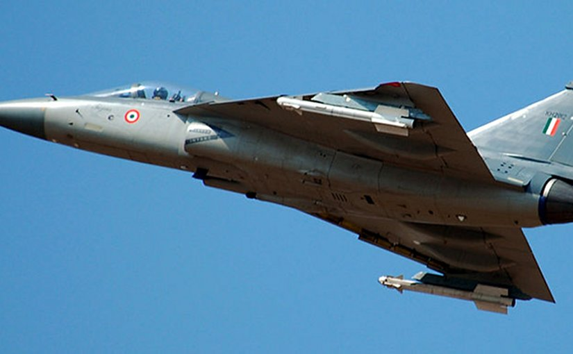 India's Tejas fighter plane. Photo by Rahuldevnath, Wikipedia Commons.