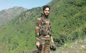Burhan Wani, was the commander of Kashmiri militant group. Source: Wikipedia Commons.