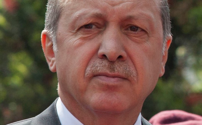 Turkey's Recep Tayyip Erdogan. Photo Cancillería del Ecuador, Wikipedia Commons.