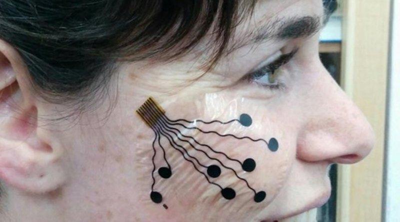 "A nanotech ""tattoo"" was developed by Tel Aviv University. Credit American Friends of Tel Aviv University (AFTAU)"