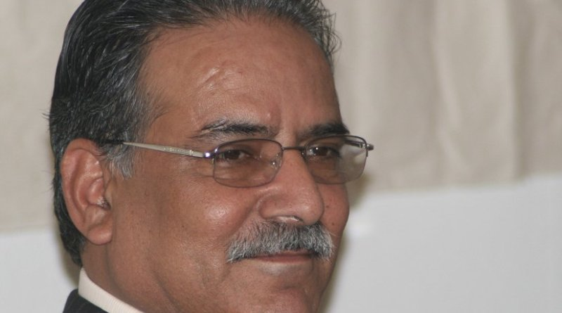 Nepal's Pushpa Kumar Dahal (also known as Prachanda). Photo by GAD, Wikipedia Commons.