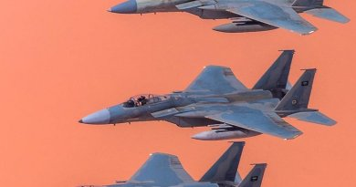 Saudi Arabian F-15C aircraft. Photo by Saudi88hawk, Wikipedia Commons.