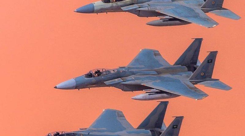 Saudi Arabian F-15C aircraft. Photo by Saudi88hawk, Wikipedia Commons.