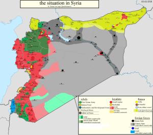 Syria-2016. Credit: Neville Teller