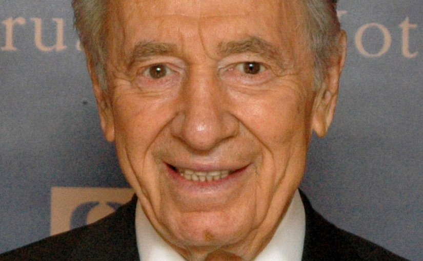 Israel's Shimon Peres. Photo by Michael Thaidigsmann, Wikipedia Commons.