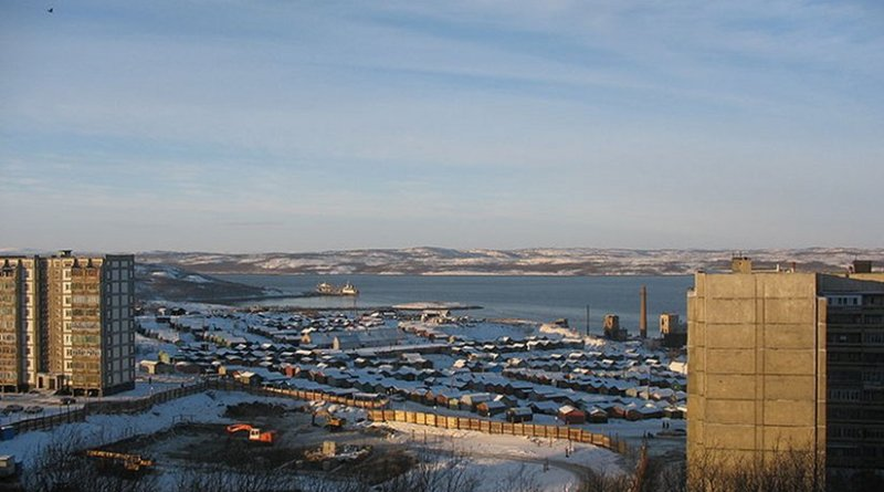 Severomorsk, in Murmansk Oblast, Russia. Photo by Insider, Wikipedia Commons.