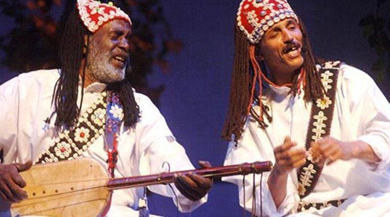Moroccan musicians.