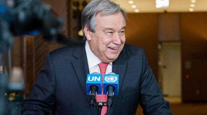 António Guterres. UN Photo/Manuel Elias