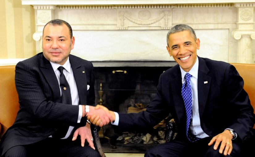 King of Morocco Mohammed VI and US President Barack Hussein Obama. Photo Credit: MAP and White House.