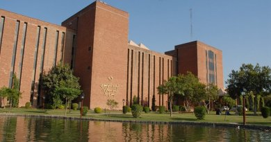 Shaukat Khanum Memorial Cancer Hospital & Research Centre (SKM) in Pakistan.