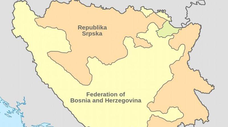 Location of Republika Srpska. Source: Wikipedia Commons.