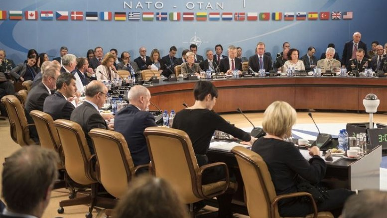 Defense Secretary Ash Carter attends a North Atlantic Council meeting at NATO headquarters in Brussels, Oct. 26, 2016. DoD photo by Air Force Tech. Sgt. Brigitte N. Brantley