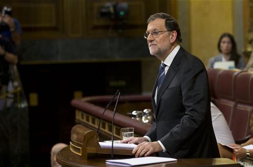 Spain's Mariano Rajoy. Photo Credit: Pool Moncloa / Diego Crespo