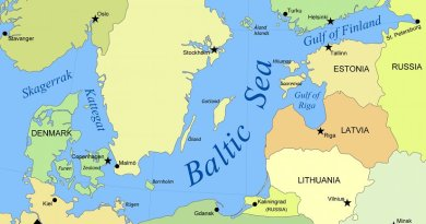 Baltic Sea. Source: Wikipedia Commons.