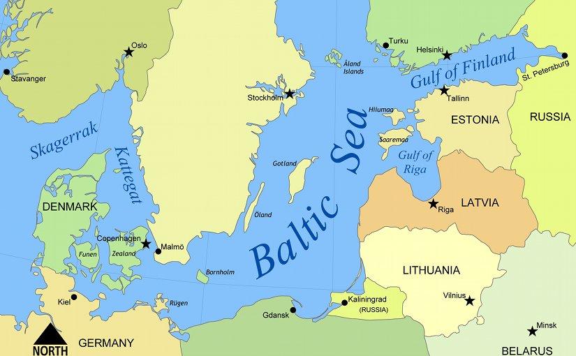Baltic Sea. Source: Wikipedia Commons.