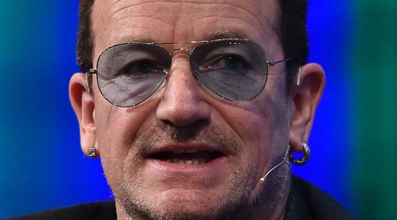 """Paul David Hewson, """"Bono"""". Photo Credit: 2014 Web Summit, Wikipedia Commons."""