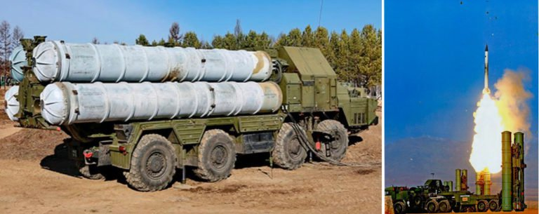 S-300 Missile Defense System (credit: Russian Defense Ministry)