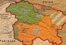The LoC Disputed Territory: Shown in green is Kashmiri region under Pakistani control. The orange-brown region represents Indian-controlled Jammu and Kashmir while the Aksai Chin is under Chinese control. Credit: CIA World Factbook.