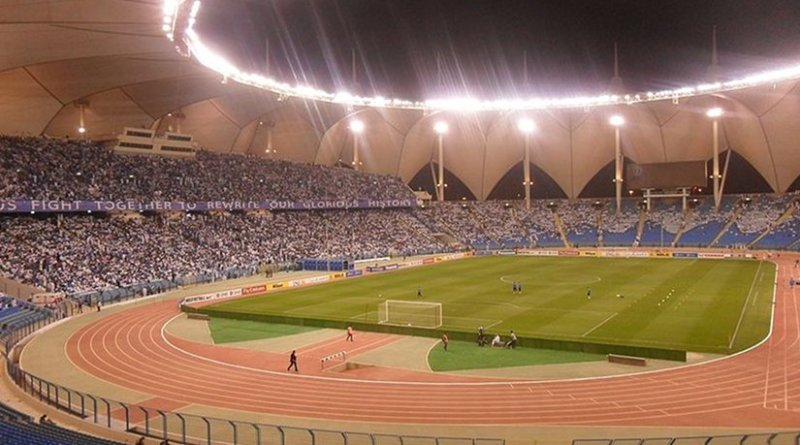 King Fahd International Stadium, Riyadh, Saudi Arabia. Photo by على المزارقه Wikipedia Commons.