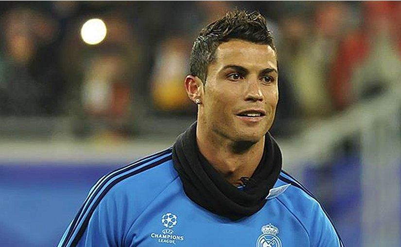 Cristiano Ronaldo. Photo by Дмитрий Журавель, Wikipedia Commons.