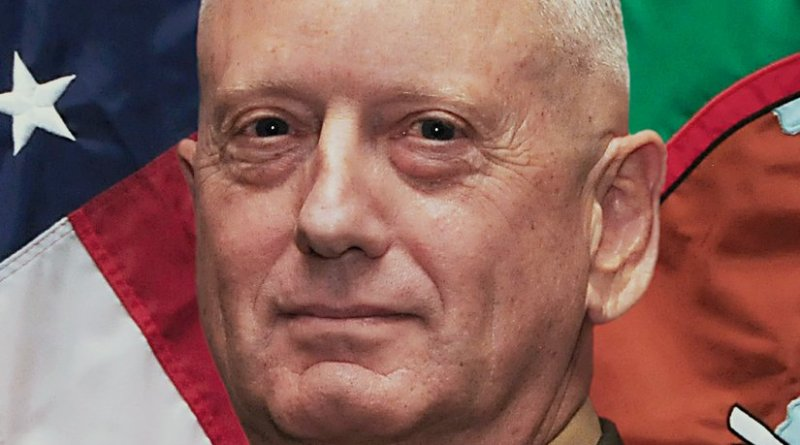 General James Mattis. Photo Credit: U.S. CENTCOM, Wikipedia Commons.