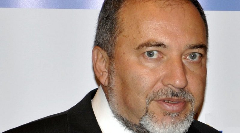 Israel's Avigdor Lieberman. Photo by Michael Thaidigsmann, Wikipedia Commons.