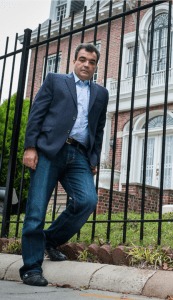 Bassam Barabandi, a former employee of the now closed Syrian Embassy in Washington, DC.