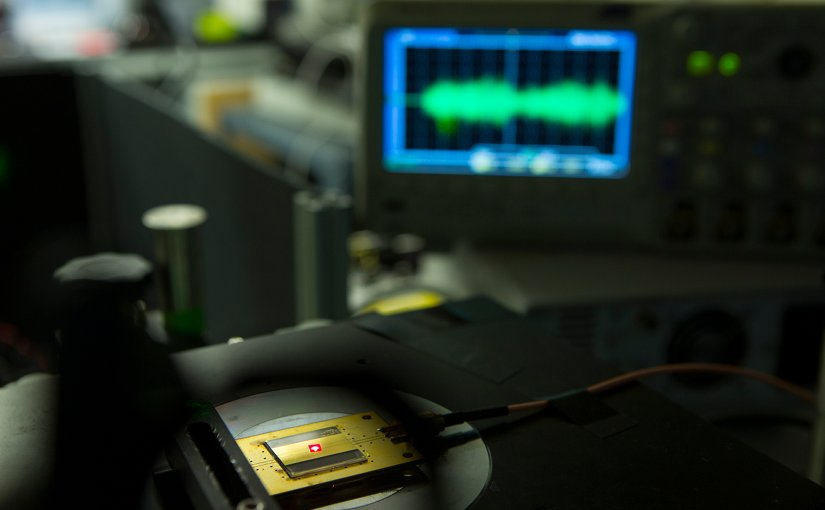 This tiny radio — whose building blocks are the size of two atoms — can withstand extremely harsh environments and is biocompatible, meaning it could work anywhere from a probe on Venus to a pacemaker in a human heart.