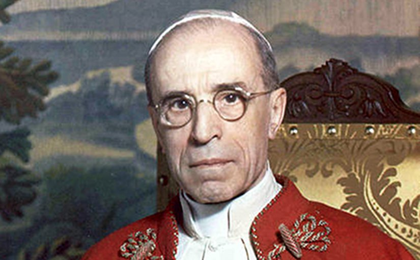 His Holiness Pope Pius XII. Photo Credit: The Vatican, Wikipedia Commons.