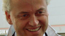 The Netherlands' Geert Wilders. Photo by Wouter Engler, Wikipedia Commons.