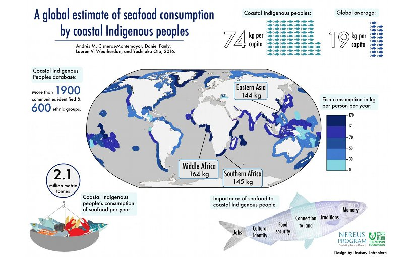 Indigenous seafood consumption 15 times higher per capita than national averages. Credit Lindsay Lafreniere