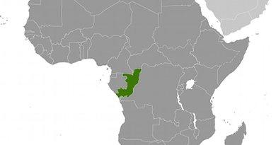 Location of Republic of Congo. Source: CIA World Factbook.