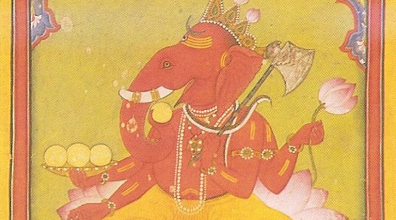 Hindu Deity Lord Ganesha. Credit: Wikipedia Commons.