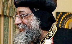 Coptic Pope Tawadros II. Photo by Dragan TATIC, Wikipedia Commons.